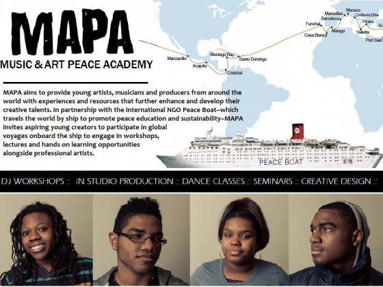 Help Fund Youth from New York to Join the Peace Boat!