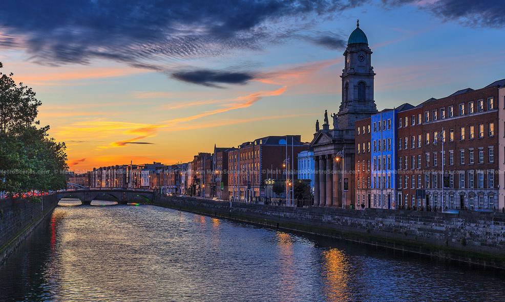 Картинка города ирландия