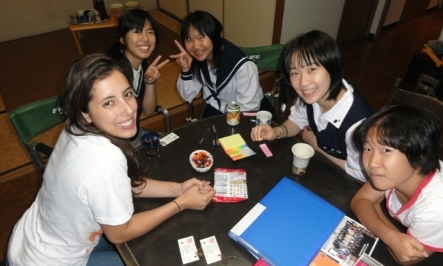 Help Alexandria chaperone American youth on a trip to Japan!