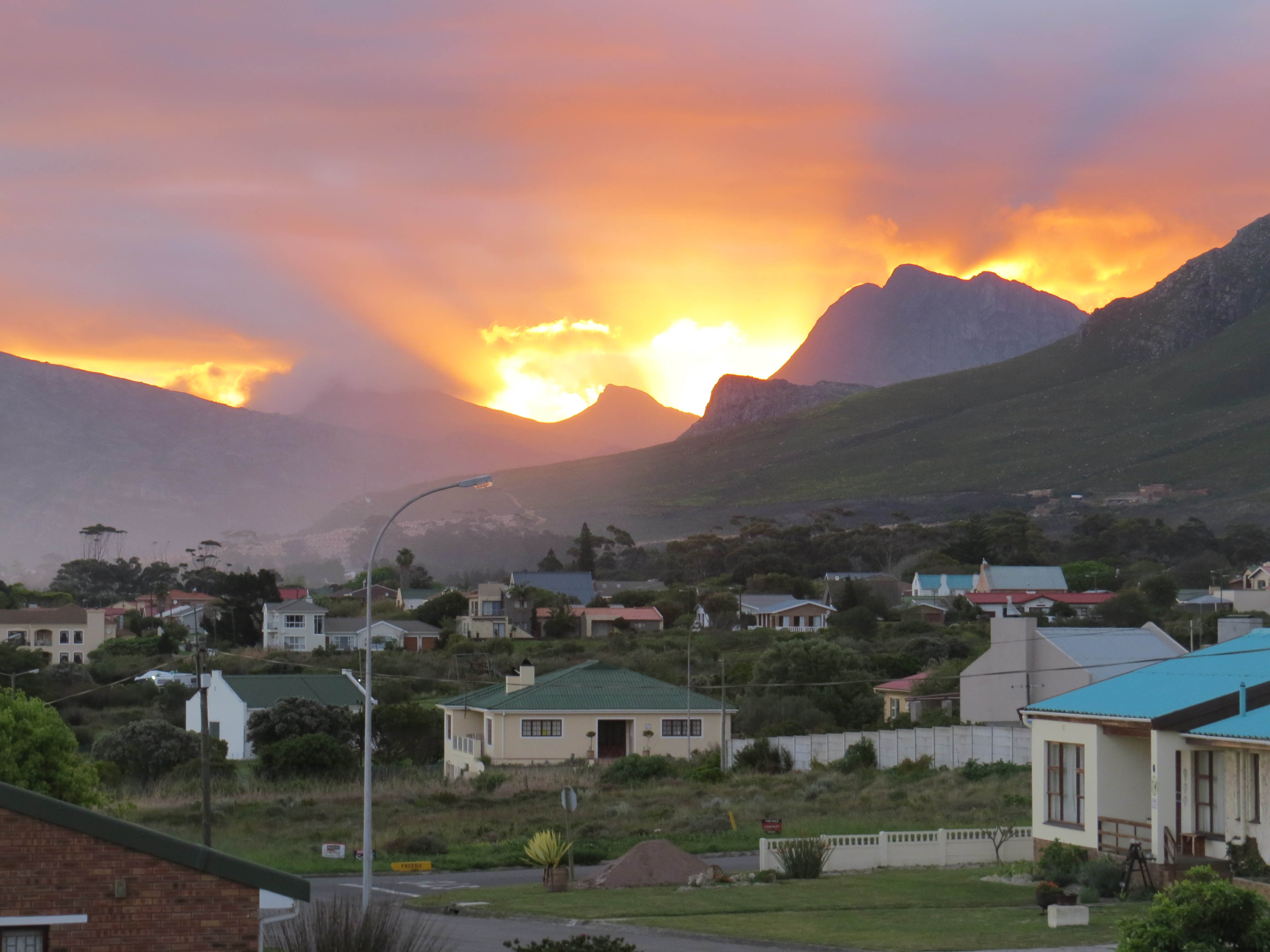 My hometown in South Africa.
