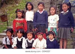 kids of school near annapurna