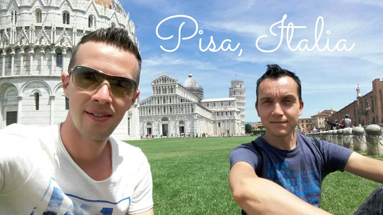 Our last trip to north Italy, Pisa. Summer 2017.