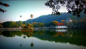i has come near to kandy lake