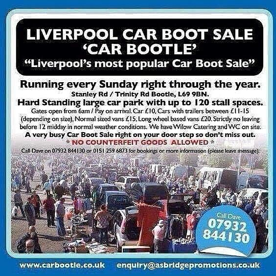 Car Boot sale- 25th February