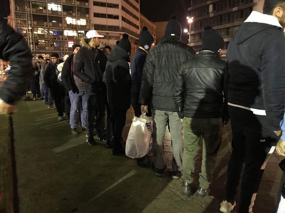 Nightly Feeding Programs in Victoria Square
